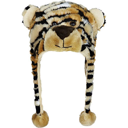 Insanity Tiger scarf hat - scarf headwear - animal hats with ...