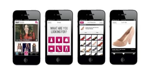 Snap Fashion mobile app