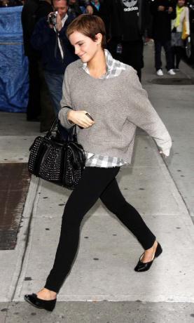 Emma Watson Casual Style Snap Fashion
