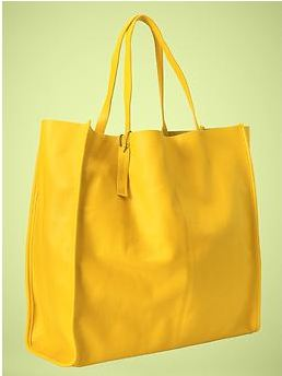 Totes  maze! Gap bright leather bags