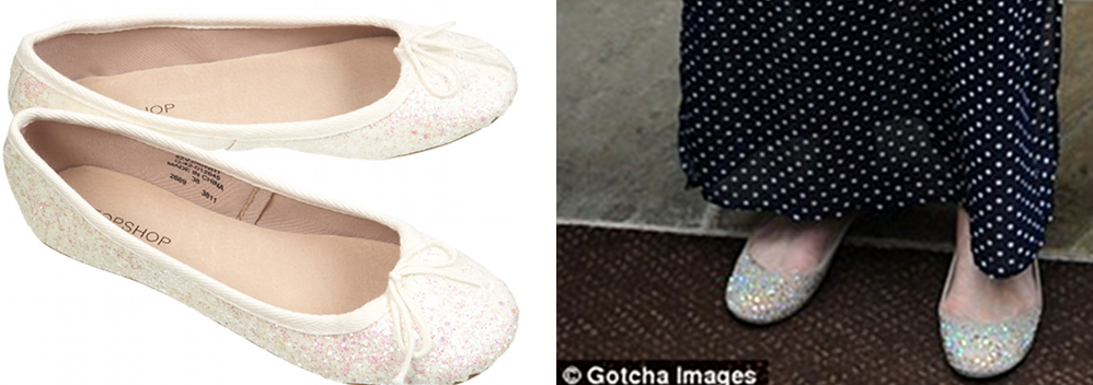 6aa21e7fe6d The shoes! VIBRANT glitter ballet pumps